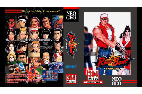 NEO·GEO - Real Bout FATAL FURY SPECIAL [720p HD] - YouTube
