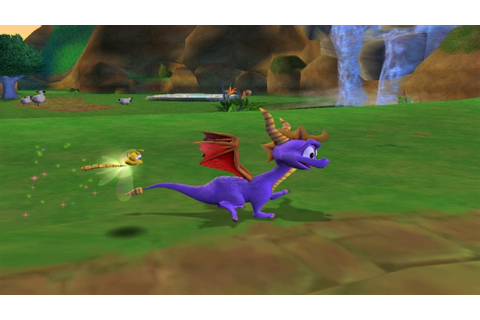 Spyro: Enter the Dragonfly - GameCube Gameplay (720p60fps ...