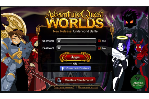AdventureQuest Worlds on aq.com Play Online Now!