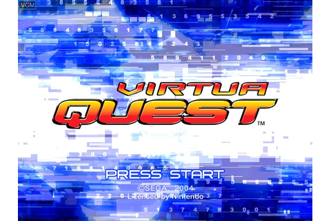 Virtua Quest for Nintendo GameCube - The Video Games Museum