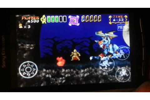Ghosts 'N Goblins Gold Knights On The Xperia Play ...