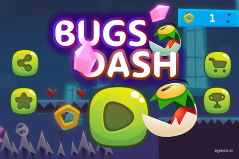 Bugs Dash - Buildbox Adventure Game by Devmal | Codester