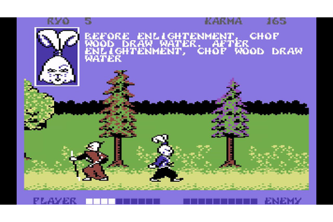 C64 Longplay [090] Samurai Warrior - The Battles of Usagi ...