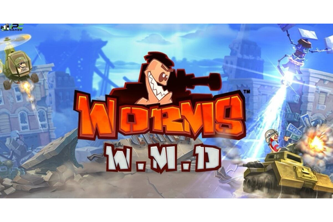 Worms W.M.D Wormhole PC Game Free Download