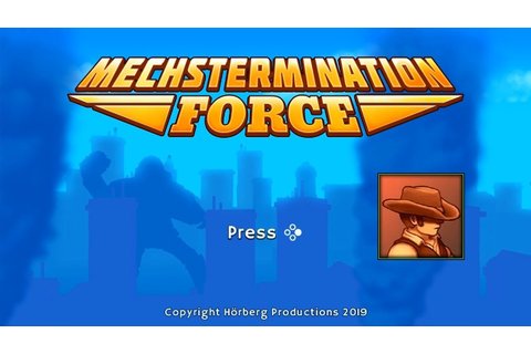 "Mechstermination Force (SW) ""Gunman Clive"" Game Clear w ..."