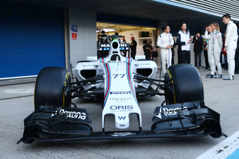 Presentation Williams F1 Team FW37 | Marco's Formula 1 Page