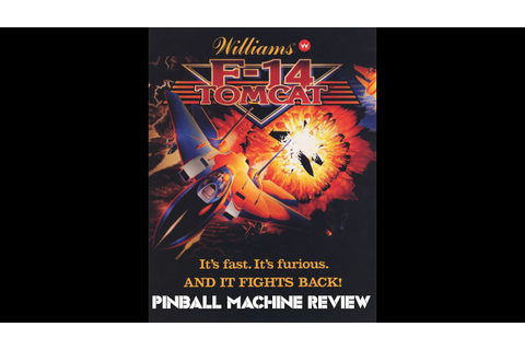 F-14 Tomcat: Pinball Review! - YouTube