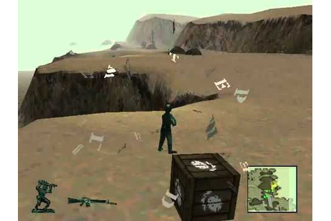 Army Men 3D Level 1 - Playstation PS1 - YouTube