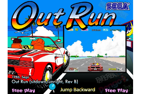 Out Run ROM - MAME 037b11 (MAME) | Emulator.Games