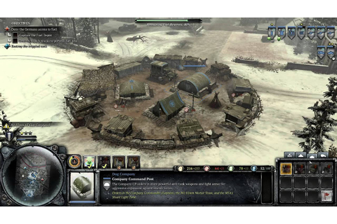 Let's Play Company of Heroes 2: Ardennes Assault (Pt 14 ...