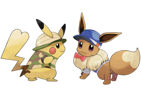 Let's Go Pikachu, Eevee Version-Exclusive Pokemon ...