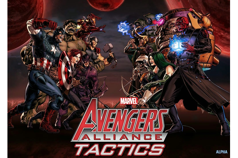 ... for Marvel: Avengers Alliance Tactics , which you can see below