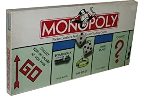 Amazon.com: Monopoly 1985 Edition by Parker Brothers: Toys ...