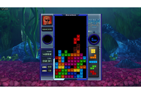 Tetris Splash for Microsoft Xbox 360 - The Video Games Museum
