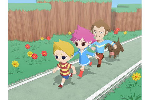 Mother 3D - Gamecube Mockup Screens « EarthBound 2 ...
