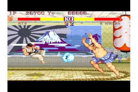 Street Fighter 2 Rainbow Edition para psp!!! - YouTube