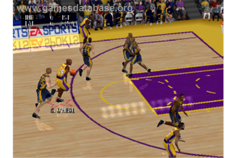 NBA Live 2001 - Sony Playstation - Games Database