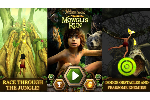 Mowgli The Jungle Book Games | Fun Run Run Games - YouTube