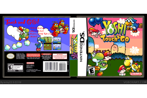 Yoshi Touch and Go Nintendo DS Box Art Cover by kirby22