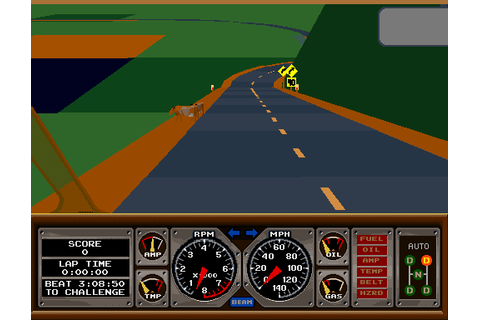 Race Drivin' (1990) by Atari Arcade game