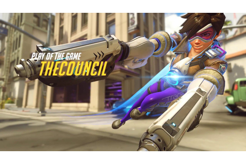 Overwatch (Tracer Gameplay): The Perfect Game - YouTube