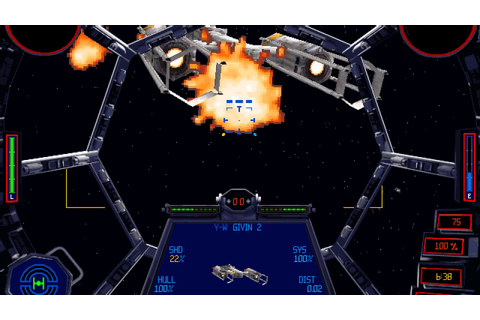 TIE Fighter Battle II last mission - classic games - YouTube
