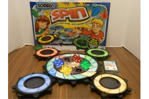 Sorry! Spin Board Game Review and Instructions | Geeky Hobbies