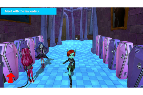 Monster High: New Ghoul in School (Wii U) Screenshots