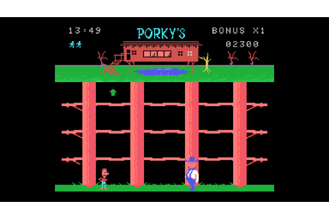 "An Ode to the Old School ""Porky's"" Video Games ~ THE ..."