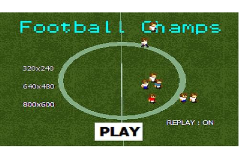 Football Champs by quizgames330 - Game Jolt