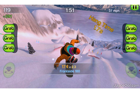 Android Application and Games: SummitX Snowboarding HVGA ...