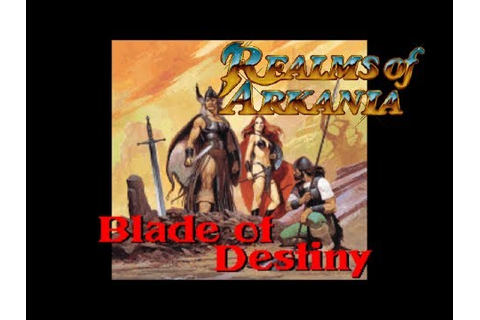 Realms of Arkania/ Blade of Destiny - Intro/Opening ...