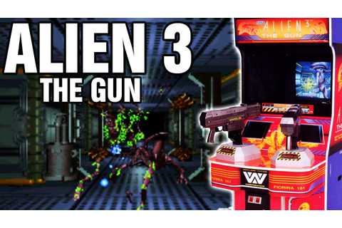 Alien 3 The Gun Arcade Playthrough Longplay 1993 Rail ...