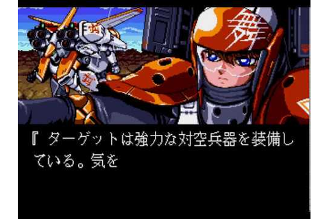 Mega Drive Longplay [513] Musha Aleste: Full Metal Fighter ...