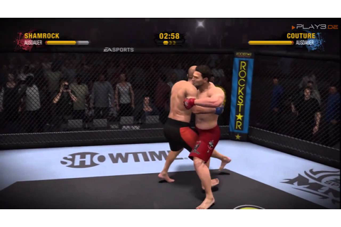 EA Sports MMA I Gameplay Footage PS3 Version - YouTube