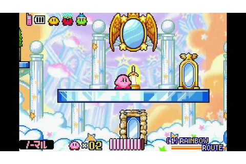 Kirby Amazing Mirror ~ a few little glitches - YouTube