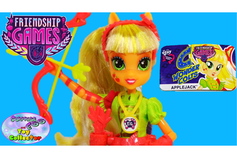 My Little Pony Friendship Games Applejack Doll | GamesWorld