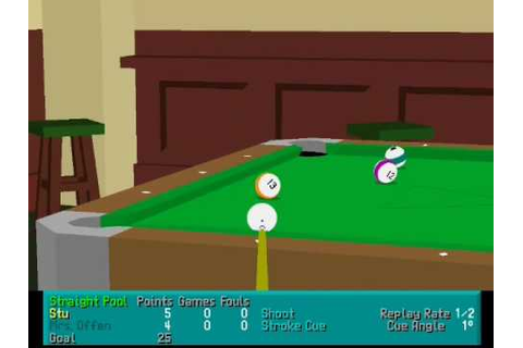 Great DOS Game: Virtual Pool - YouTube