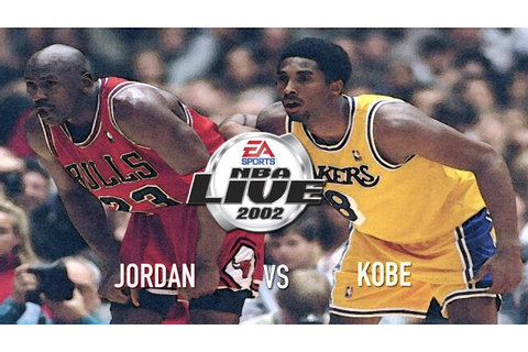 NBA Live 2002 - (Xbox) HD Gameplay - 1 on 1 | Jordan vs ...