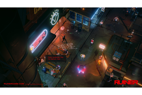 Ruiner is an new cyberpunk shooter inspired by anime ...