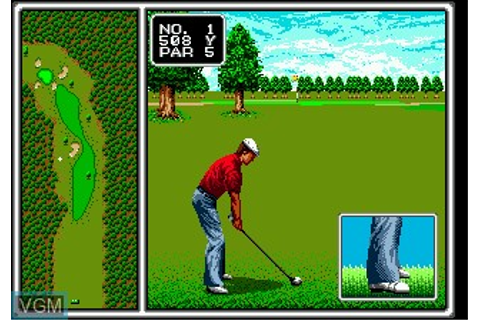 Arnold Palmer Tournament Golf for Sega Megadrive - The ...