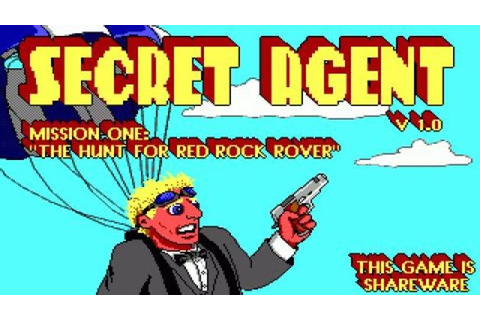 Secret Agent gameplay (PC Game, 1992) - YouTube