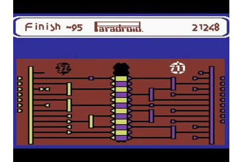 C64 Longplay - Paradroid - YouTube