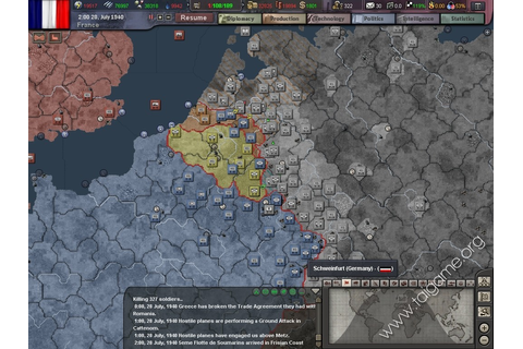 Hearts of Iron III - Download Free Full Games | Strategy games