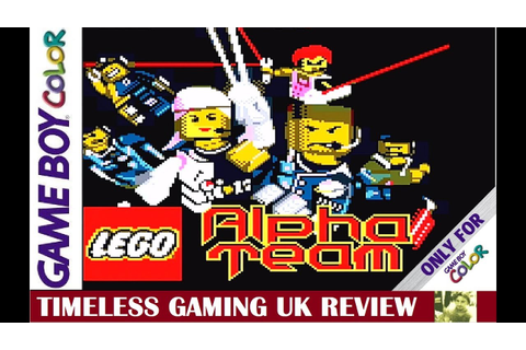 LEGO Alpha Team - Game Boy Color - Review - YouTube