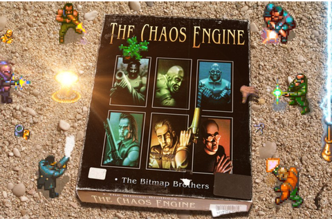"""The Chaos Engine"" from The Bitmap Brothers - Wasabim"