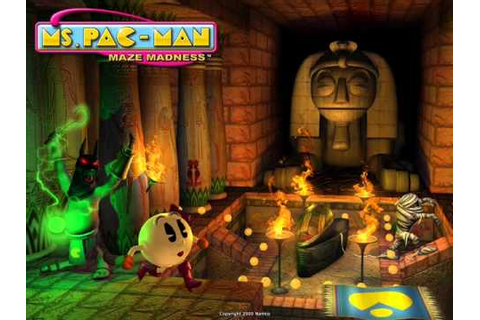 Ms. Pac-Man Maze Madness OST: Haunted Halloween - YouTube