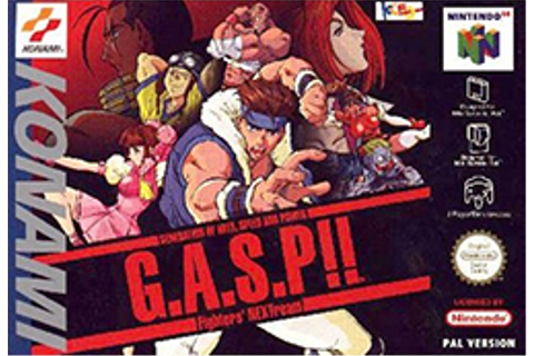 G.A.S.P!! Fighters' NEXTream - Wikipedia