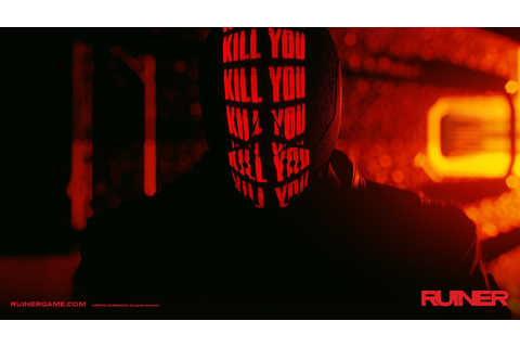 Ruiner is a neon-bright swords and guns game that will brook no ...