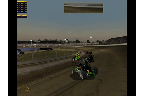 Dirt Track Racing Sprint Cars 2015 - YouTube